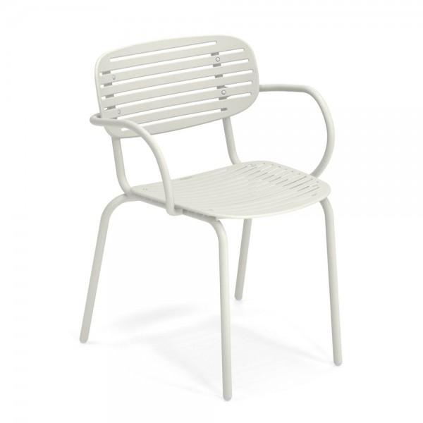 """Armlehnstuhl """"Mom"""" von EMU in Weiß"""