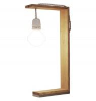 """Tischleuchte """"Lampa"""" von Raumgestalt - aus Eiche"""