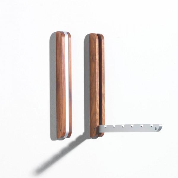"side by side design Garderobe ""Hook"" Holz"