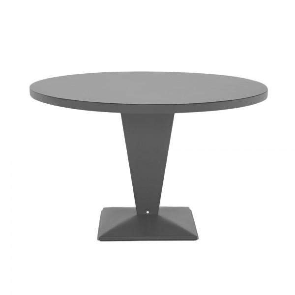 """Tolix Bistrotisch """"Table Kub"""" in Grau"""