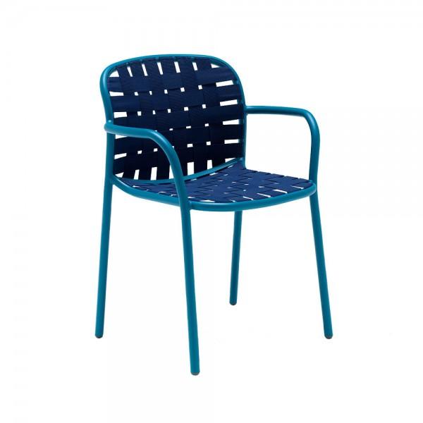 """Armlehnstuhl """"Yard"""" von EMU - in Blau"""