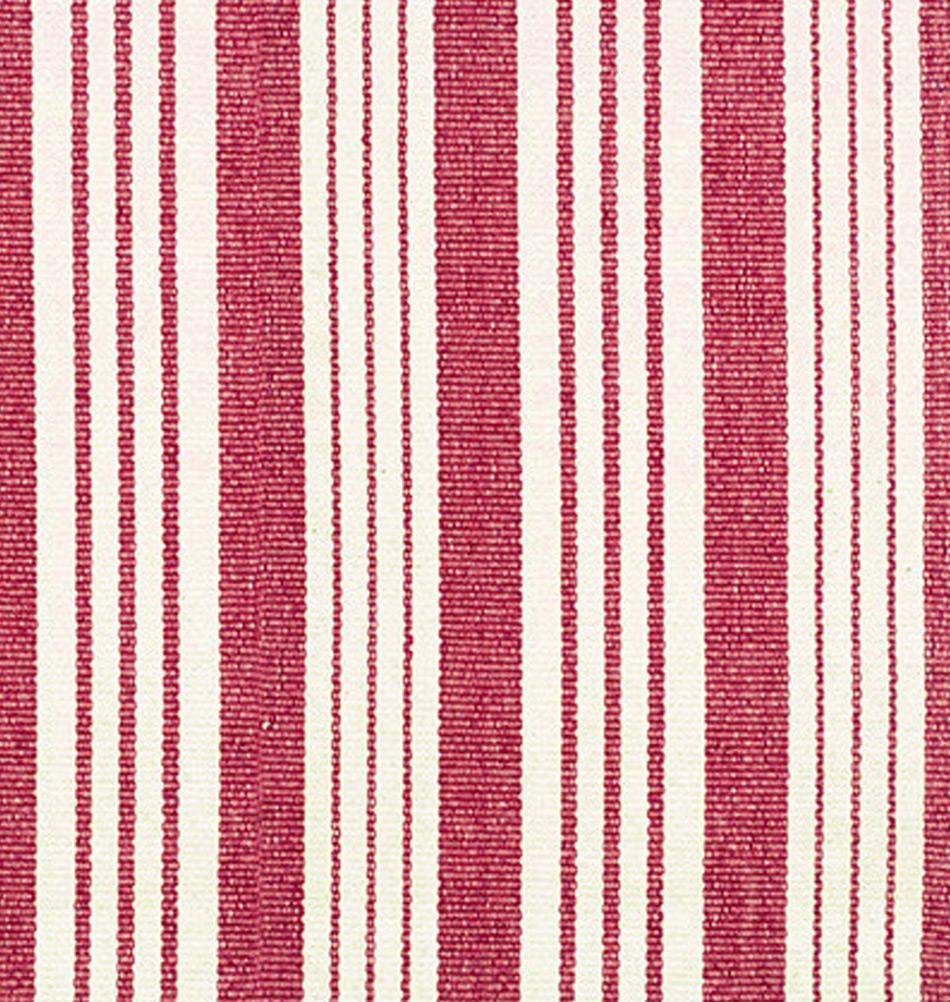 Roter teppich mit streifen frischer wohnstil online for Roter ledersessel