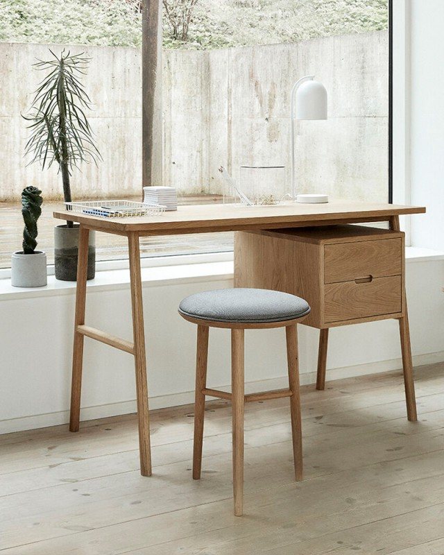 """Hübsch interior Schreibtisch """"Andor"""" Eiche"""