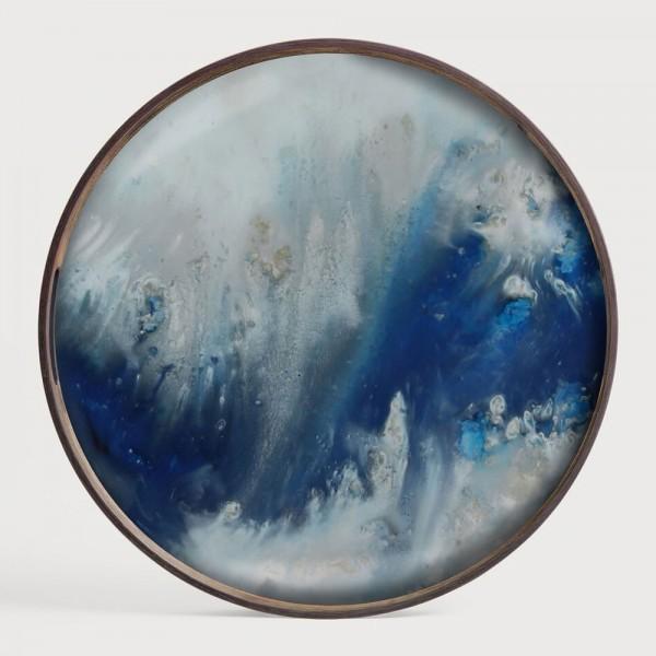 """Dekotablett """"Blue Mist Organic"""" von Notre Monde"""