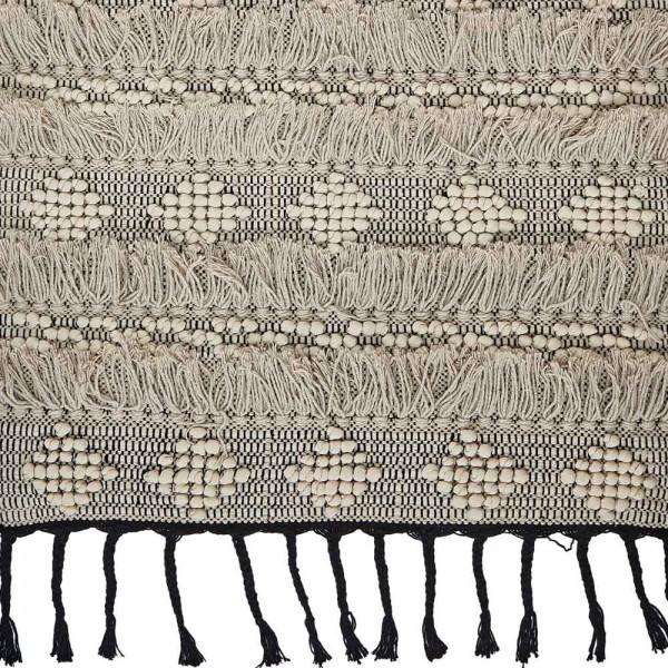 Liv interior teppich wohn design - Baumwollteppich schwarz weiay ...