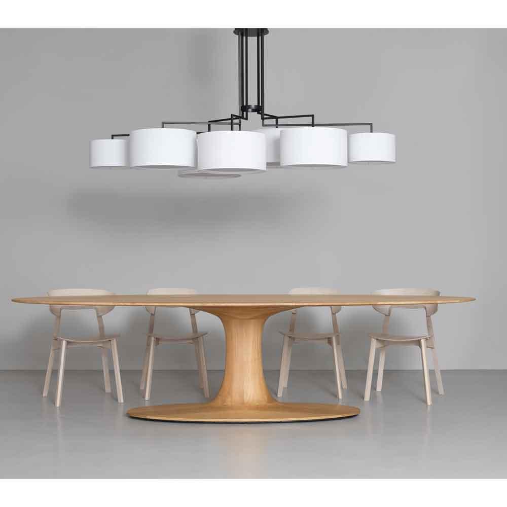 Ovaler esstisch aus holz online bei for Esstisch massivholz oval