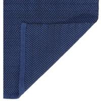"""Teppich """"Herringbone"""" von liv interior - in Blau"""