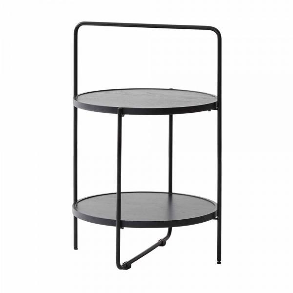 """Beistelltisch """"Tray Table"""" in Schwarz"""