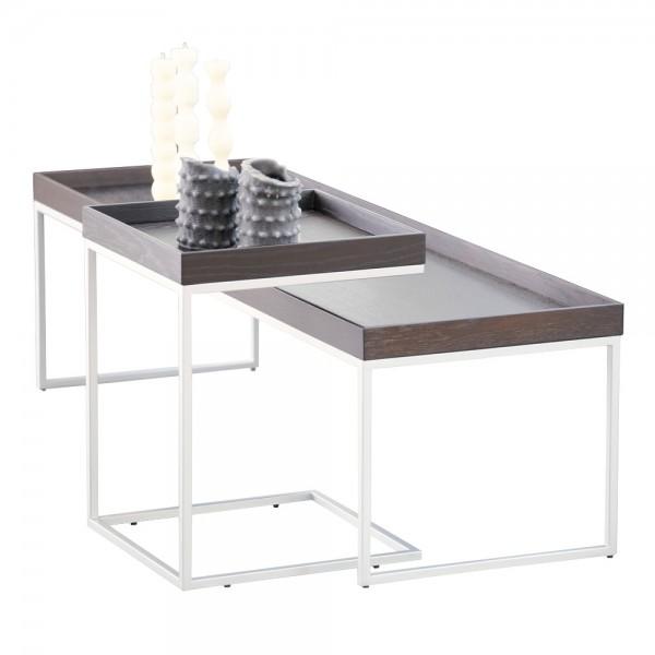 """Tabletttisch """"Pizzo"""" von jankurtz - Tischplatte aus gebeizter Wenge"""