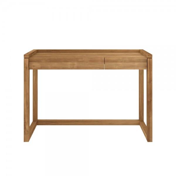 Holz-Konsole mit zwei Schubladen