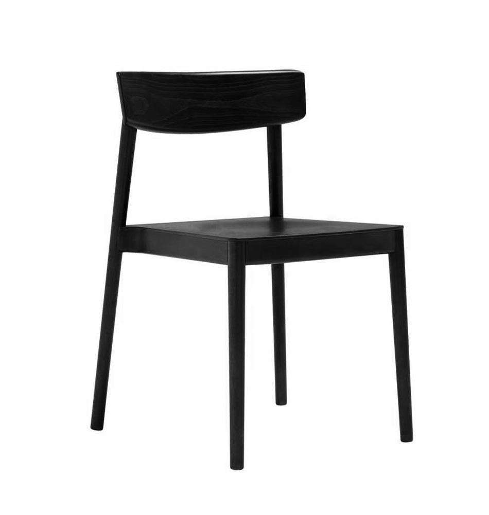 Designerstuhl aus holz andreu world - Stuhl holz schwarz ...