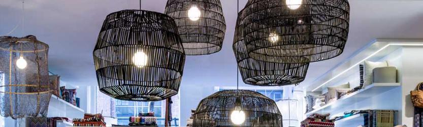 Bambus Lampen