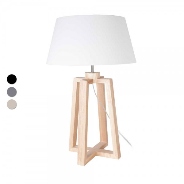 """Tischlampe """"Lola"""" aus Holz"""