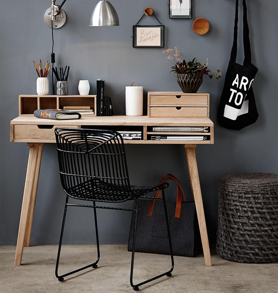 Hubsch Interior Kleiner Schreibtisch Lene Eiche