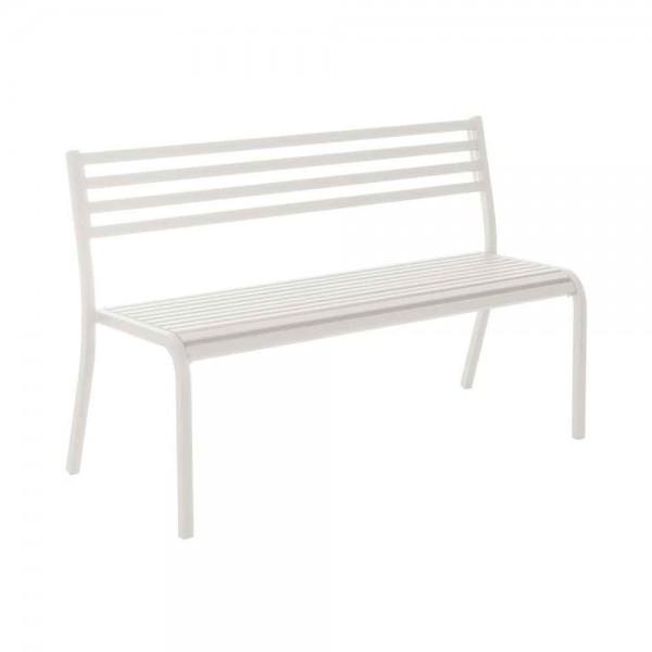 """Gartenbank """"Segno"""" von EMU in Weiß"""