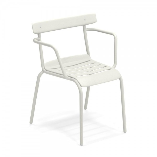 """Armlehnstuhl """"Miky"""" von EMU in Weiß"""