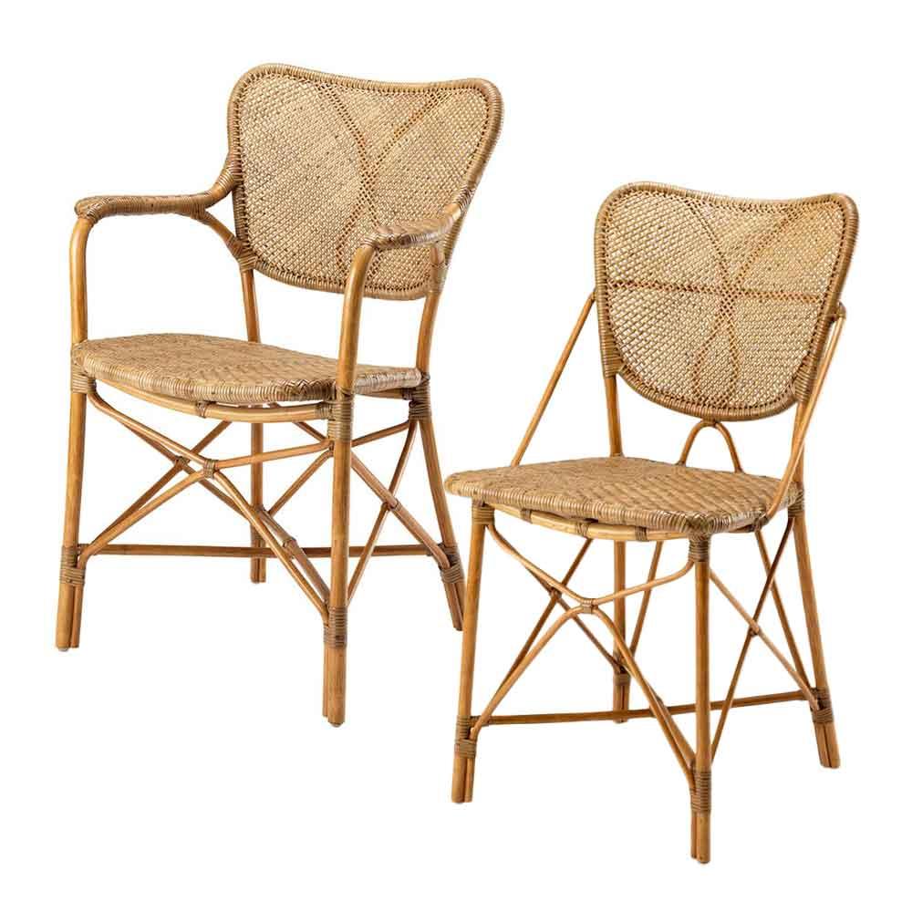 esszimmerstuhl aus rattan online bei. Black Bedroom Furniture Sets. Home Design Ideas