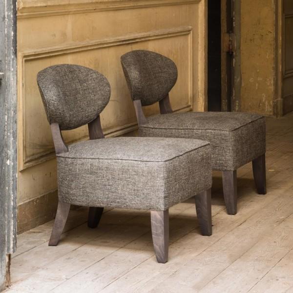 """Sessel """"Modesto"""" von marie's corner - Gemütlichkeit in Grau-Braun"""
