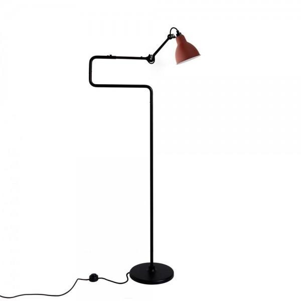 """Stehleuchte """"N°411"""" von DCW LAMPE GRAS - in Rot"""