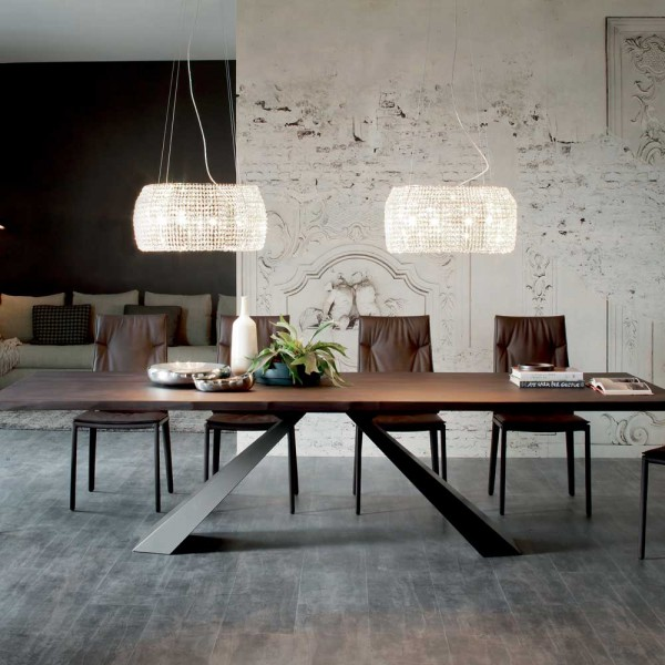 cattelan italia esstisch italienische m bel bei. Black Bedroom Furniture Sets. Home Design Ideas