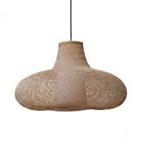 """Marokkanische Korblampe """"Aalia"""" - aus Bambus"""
