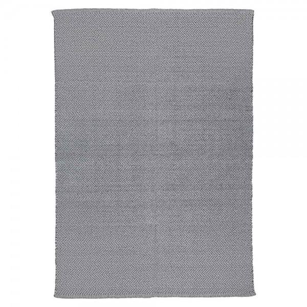 """Teppich """"Herringbone"""" von liv interior in Grau"""