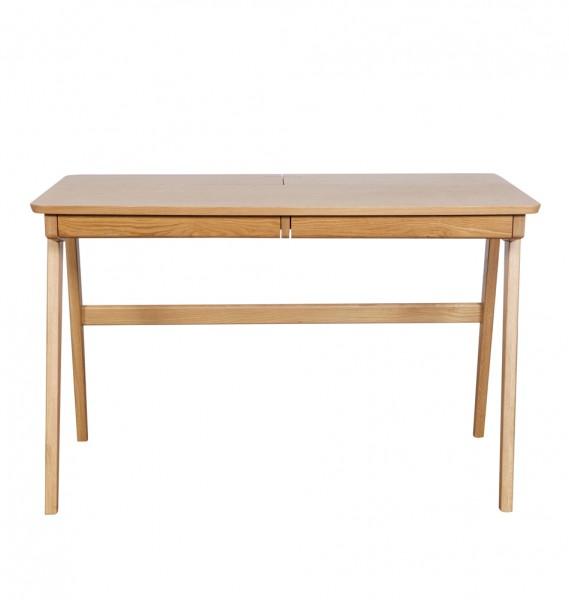 Schreibtisch mit versteckten Fächern.