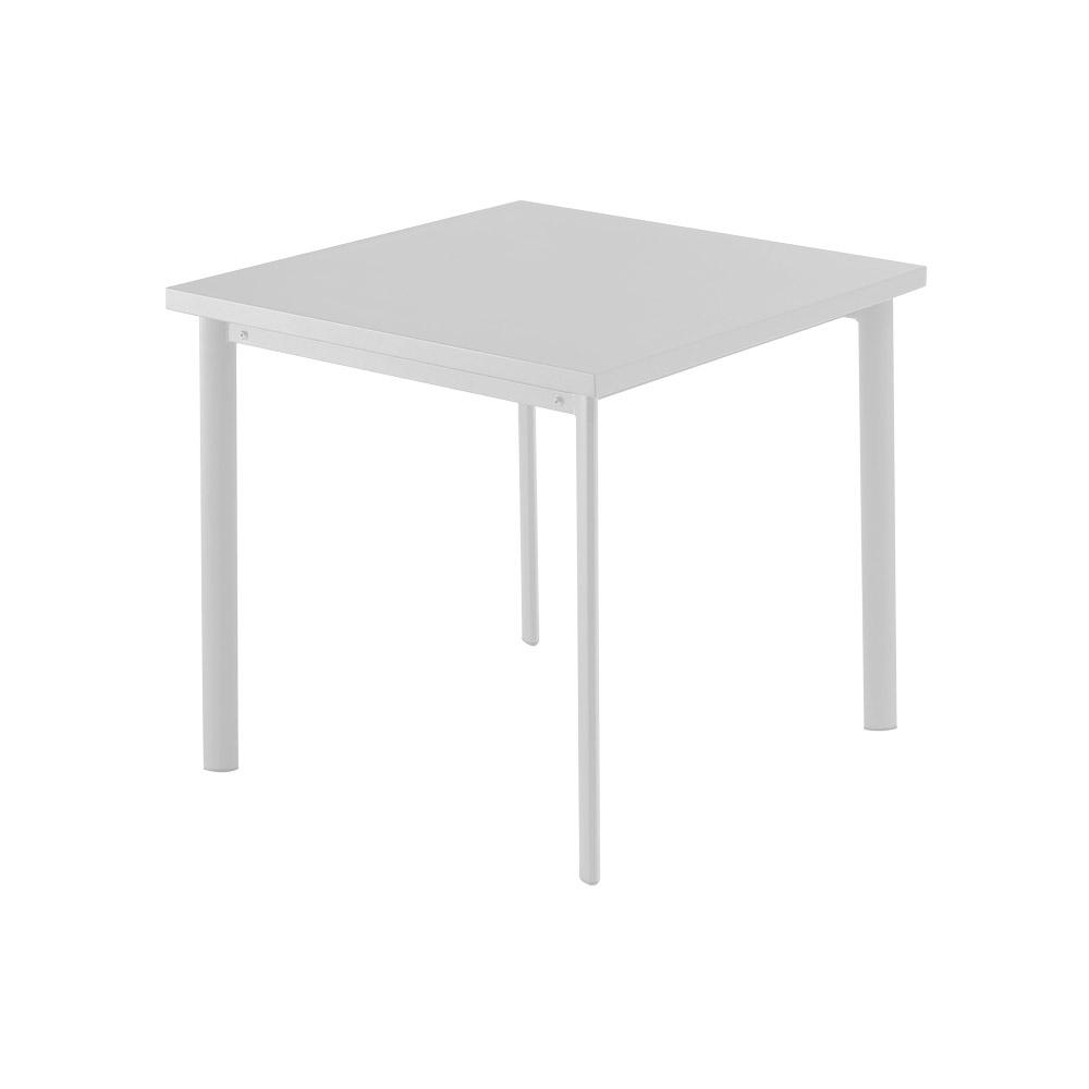 Gartentisch Von Emu Quadratischer Tisch Aus Stahl