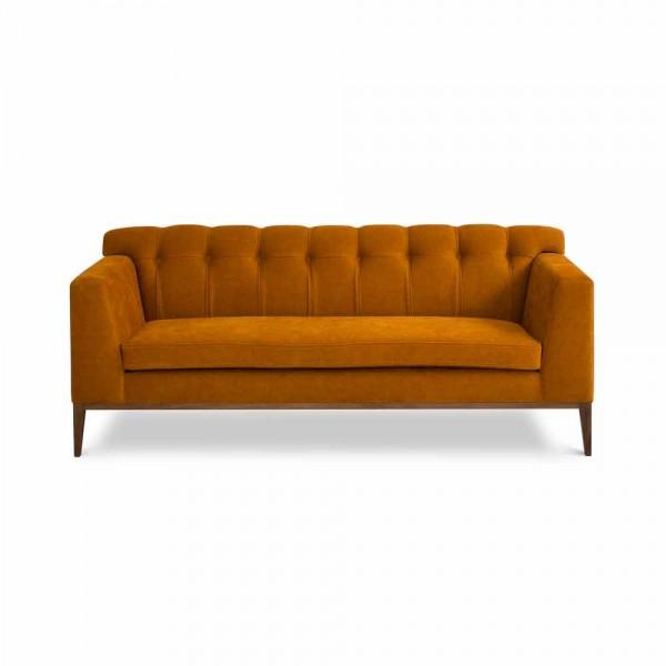 """marie's corner Sofa """"Baker"""" - in Senfgelb"""