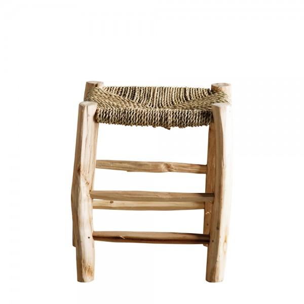 "Holzhocker ""Palm"" aus Palmenholz"