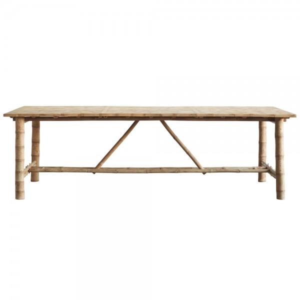"""Großer Esstisch """"Banto"""" aus Bambus"""