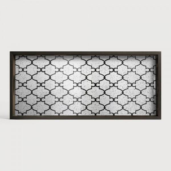 """Tablett """"Bronze Gate"""" für Tisch """"Rectangular"""" von Notre Monde"""
