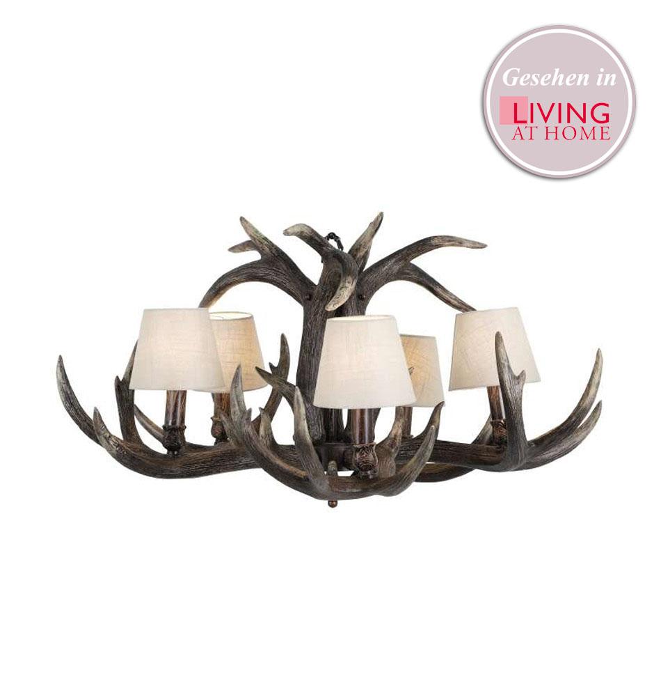 geweihleuchter eichholtz lampen. Black Bedroom Furniture Sets. Home Design Ideas
