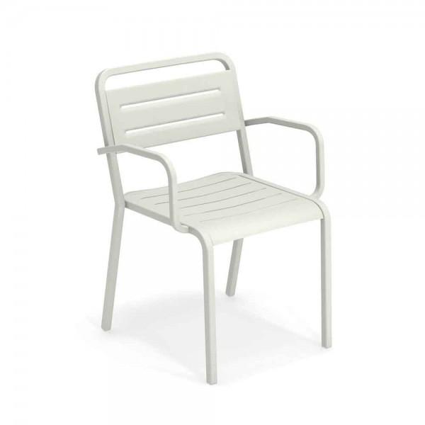 """Armlehnstuhl """"Urban"""" von EMU - in Weiß"""