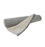 """liv interior Baumwollteppich mit Punkten """"Dots"""" (grau-weiß)"""