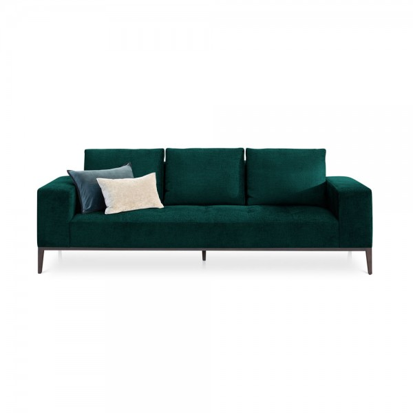 "Grünes Samt-Sofa ""Michigan"""