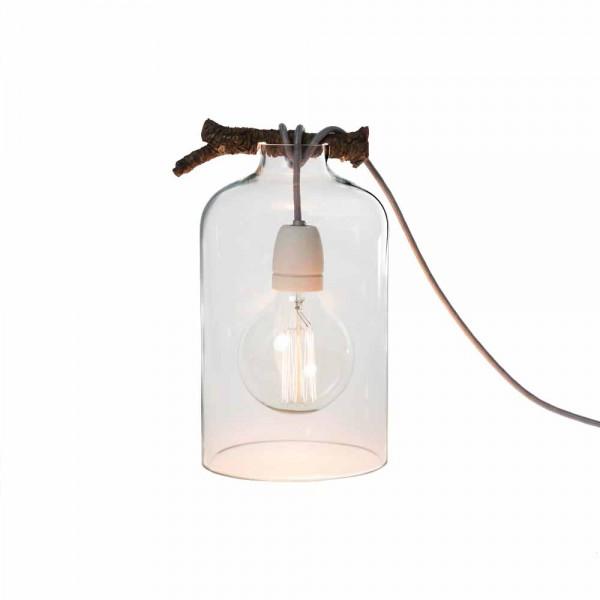 """Tischlampe """"Glasglocke"""" von Raumgestalt - inklusive Glühlampe"""