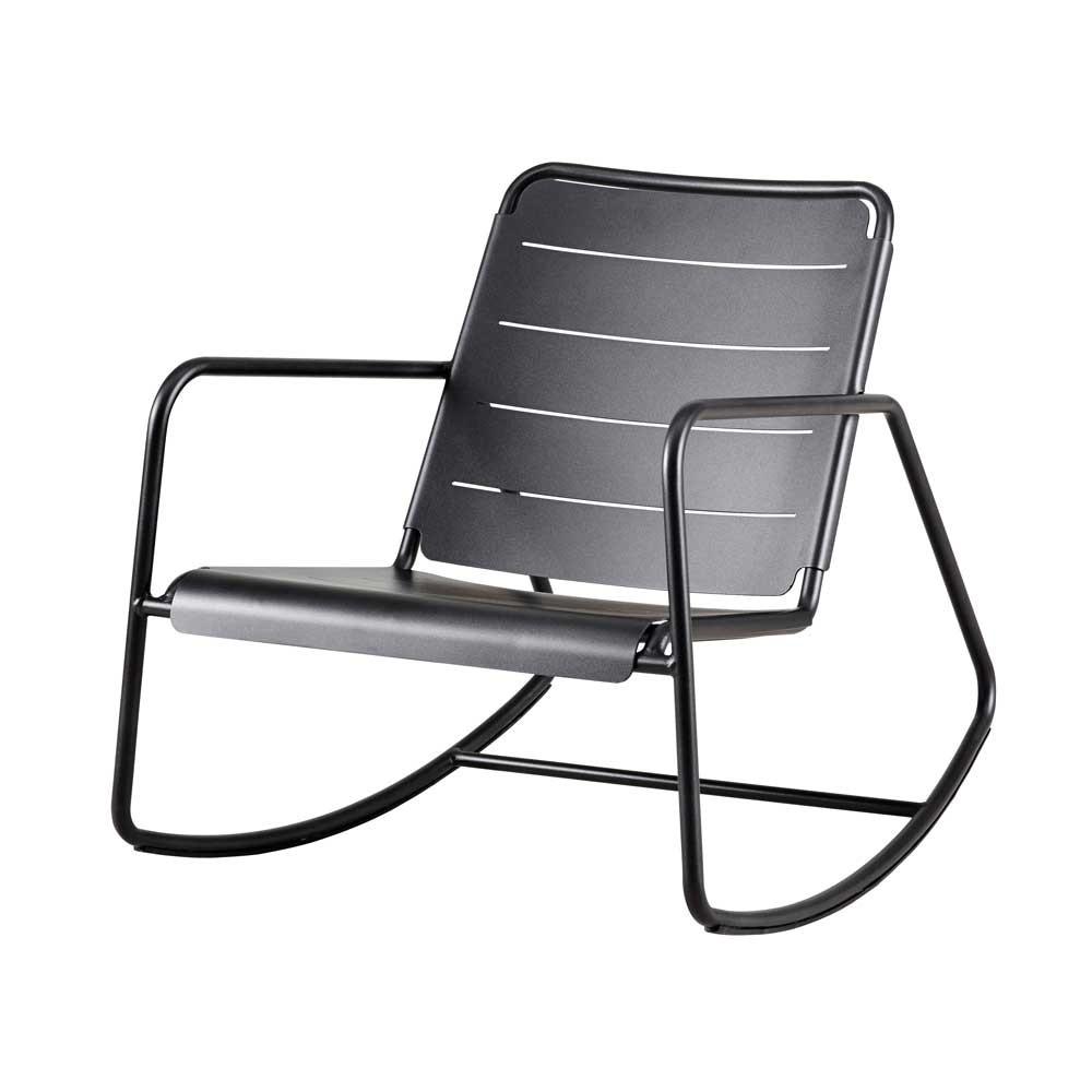 Outdoor Schaukelstuhl line schaukelstuhl stuhl aus aluminium