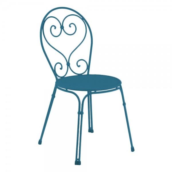 """EMU Gartenstuhl """"Pigalle"""" in Blau"""