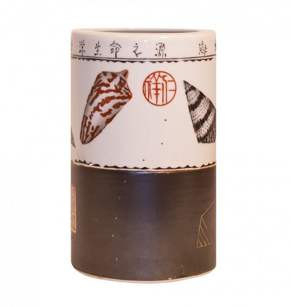 Maritime Dekoidee- Asiatische Vase