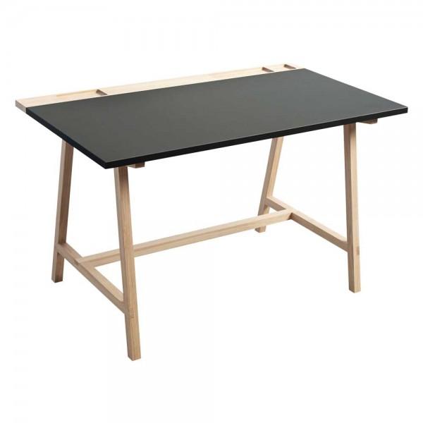 """Schreibtisch """"D1"""" mit Tischplatte in Anthrazit"""