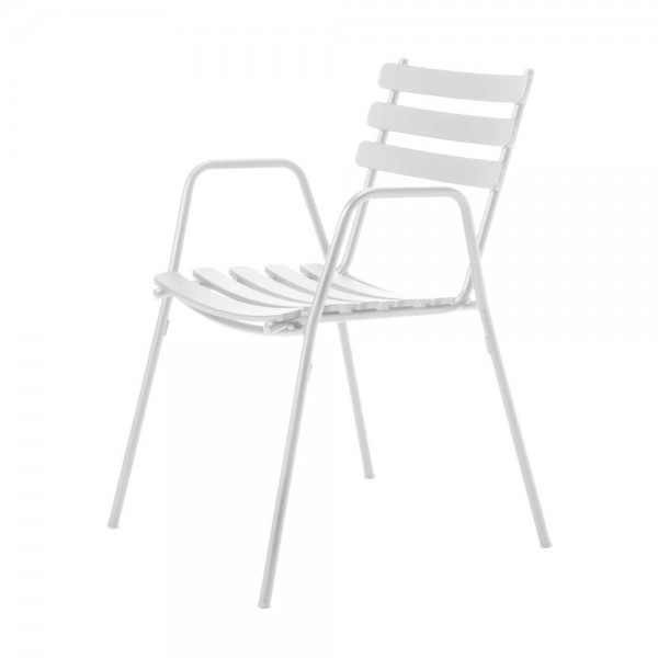"""Armlehnstuhl """"Sommer"""" in Weiß"""