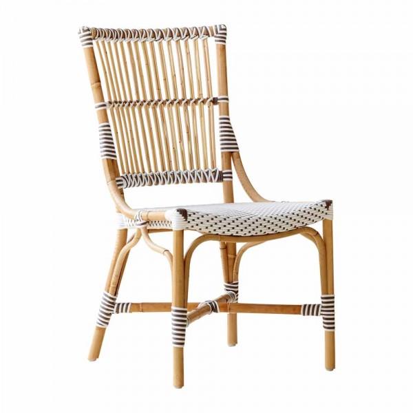 """Französischer Stuhl """"Louvre"""" Rattan"""