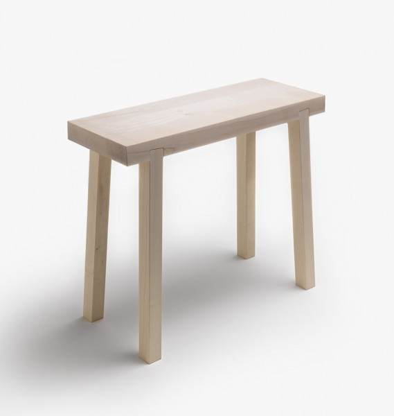 Hocker designklassiker  Holzschemel | side by side design Hocker