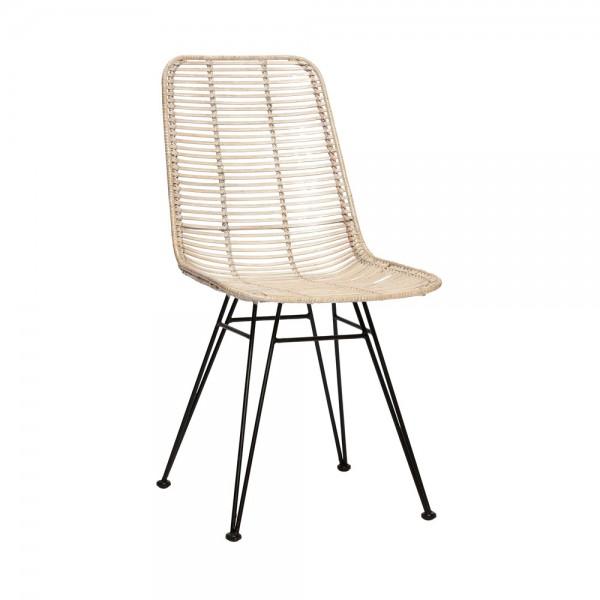 "Hübsch interior Stuhl ""Nova"" Rattan"