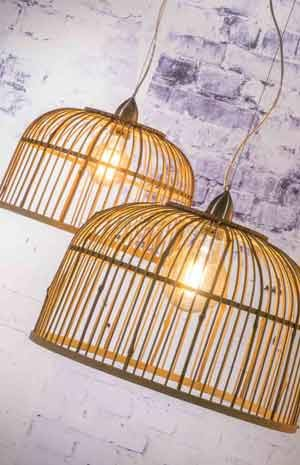 Bambuslampen Naturliche Designerlampen Online Bei Milanari Com