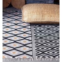 Teppich baumwolle  Baumwollteppiche - Läufer und runde Teppiche