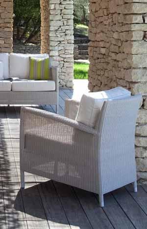 Gartensessel aus Polyrattan | wetterfeste Gartenmöbel