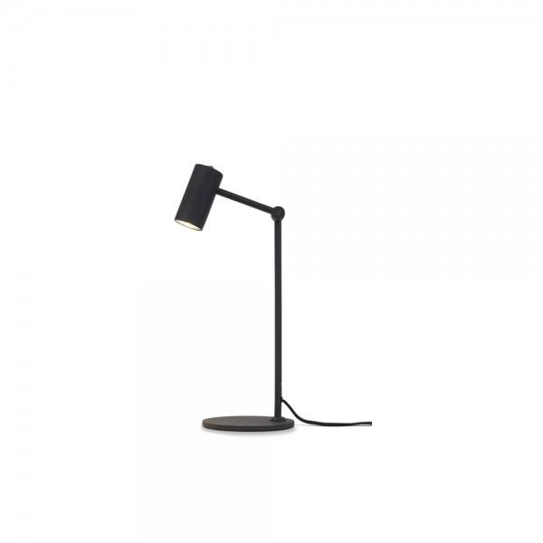 """Tischlampe """"Montero"""" aus schwarzem Eisen"""