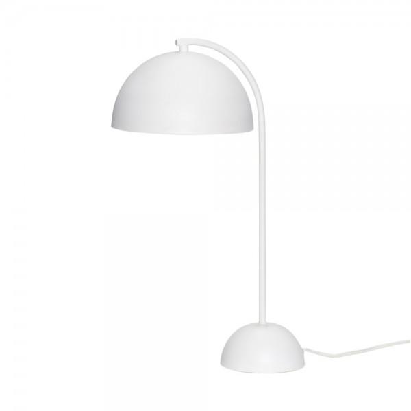 """Weiße Tischlampe """"Kol"""" von Hübsch interior"""